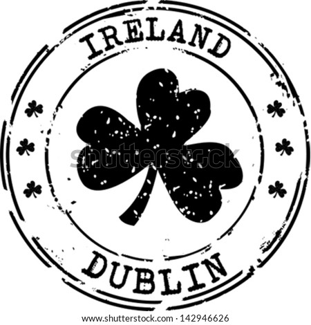 Cathedral Dublin Ireland Stamp Dublin Ireland