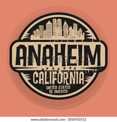 Anaheim California Stock Vectors Images Amp Vector Art
