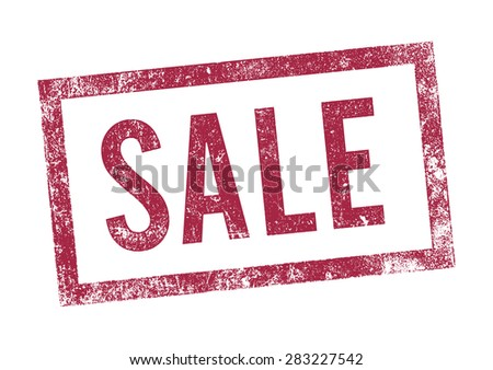Stamp Sale 2 - stock vector