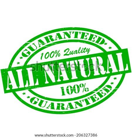 all natural symbol