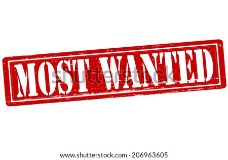 stamp text most wanted inside vector stock vector 206963605 rh shutterstock com Help Wanted Sign Clip Art Most Wanted Poster