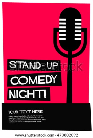 comedy club stock images royalty free images vectors