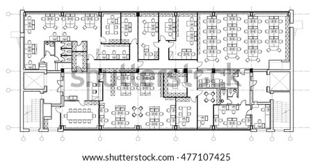 office room plan. Brilliant Plan Standard Office Furniture Symbols Set Used In Architecture Plans  Planning Icon Set Graphic Intended Office Room Plan U