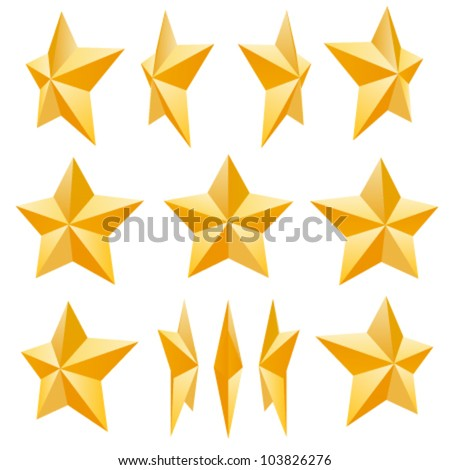 Star - stock vector