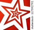 Star applique background. Vector illustration for your design. - stock photo