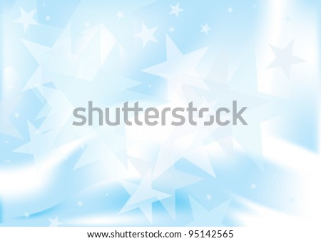 Star Burst Abstract Background - stock vector
