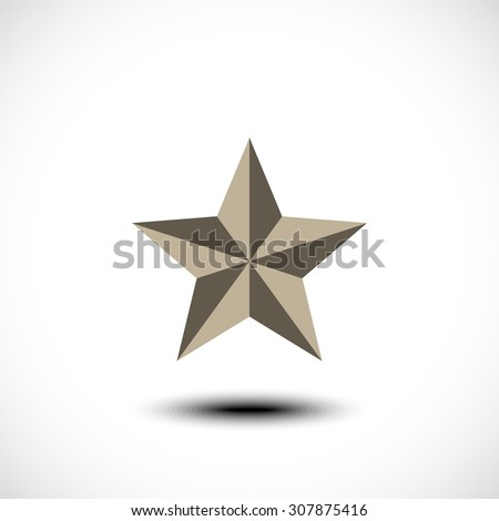Star icon. Vector illustration - stock vector