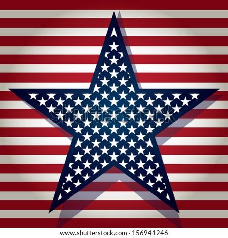 Star of Stars - stock vector
