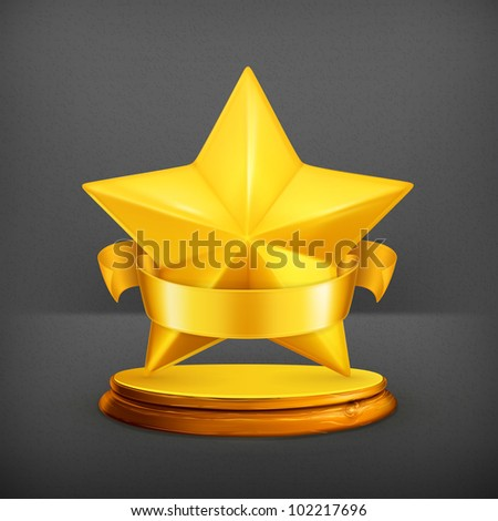 Star, vector - stock vector