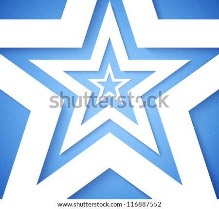 Stars applique background. Vector illustration for your design.