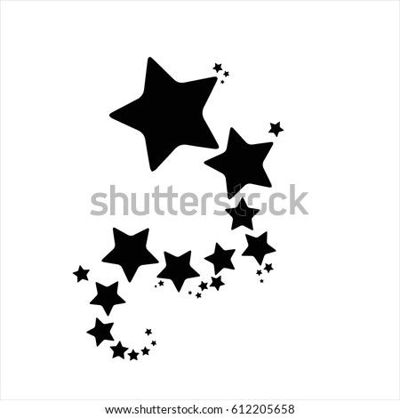 stars star design tattoos stock vector 612205658 shutterstock. Black Bedroom Furniture Sets. Home Design Ideas