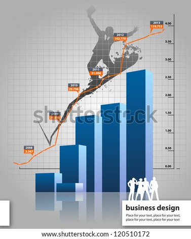 statistics - stock vector