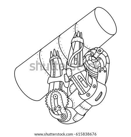 animal mechanicals coloring pages - animal mechanicals coloring book coloring pages