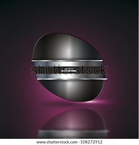 Steel abstract background.Vector design.