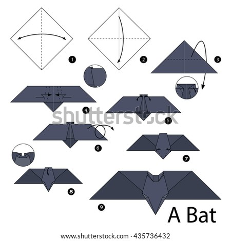 how to make a paper bat that fly
