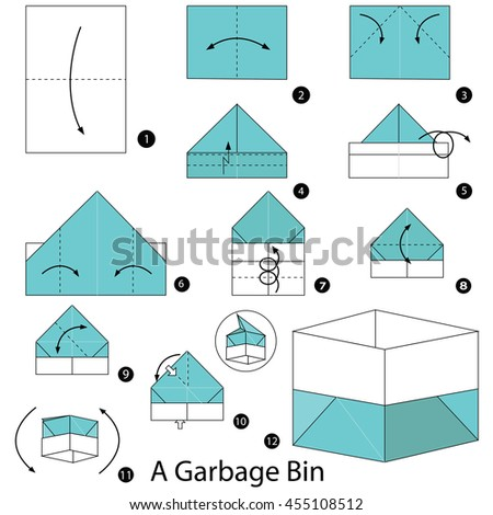 Step By Step Instructions How Make Stock Vector Royalty Free