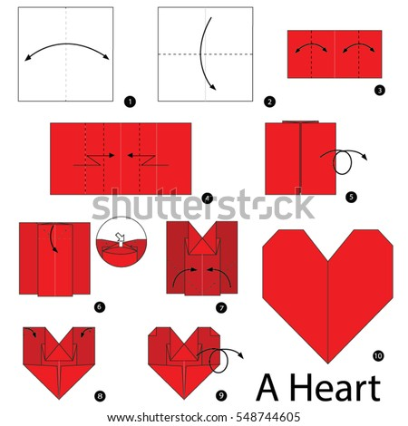 Step By Step Instructions How Make Stock Vector 548744605 Shutterstock