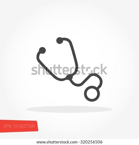 Stethoscope Vector / Stethoscope Vector Path / Stethoscope Vector Image / Stethoscope Vector Graphic / Stethoscope Vector JPG / Stethoscope Vector JPEG / Stethoscope Vector EPS / Stethoscope Vector AI - stock vector