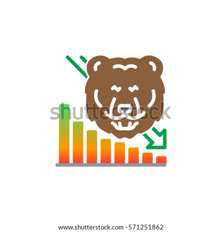 Stock Share Certificate Line Icon Filled Stock Vector ...