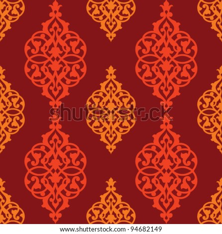 Stock vector arabic seamless pattern - stock vector
