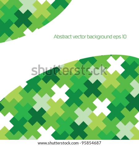 Stock vector background for presentation - stock vector