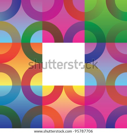 Stock vector background with place for text - stock vector