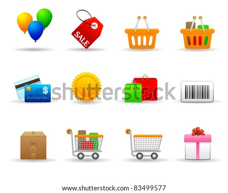 Stock Vector Illustration: Friendly icon set 3 in vector. I hope it will friendly to use. - stock vector