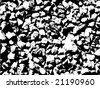 stones texture vector background - stock vector