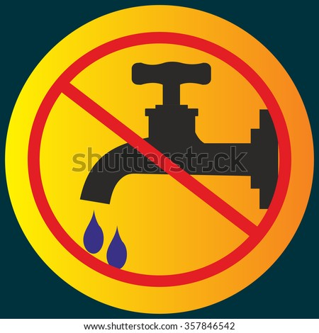 Vector Alert Sign33 Hot Water Stock Vector 15041335