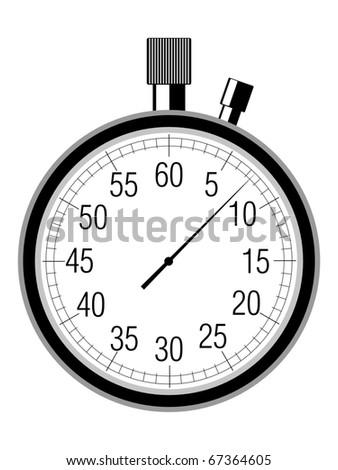 stopwatch - stock vector