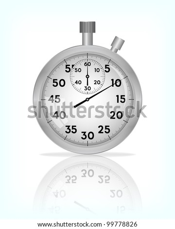 Stopwatch, vector, 10eps.