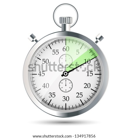 stopwatch vector illustraion