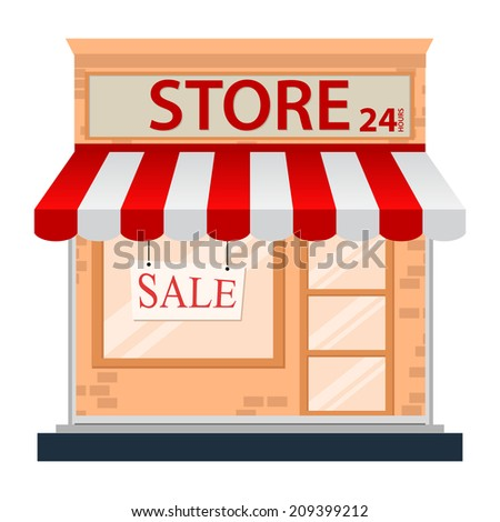 Grocery Store Exterior Stock Images, Royalty-Free Images ... Grocery Store Logos Free