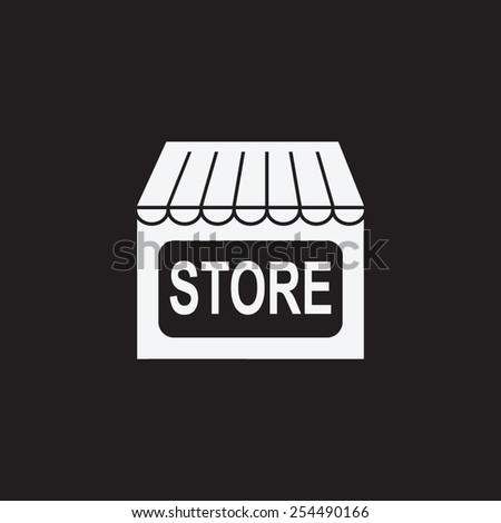 Store vector icon. Shopping web icon. Online buying symbol. Shop sign icon. - stock vector