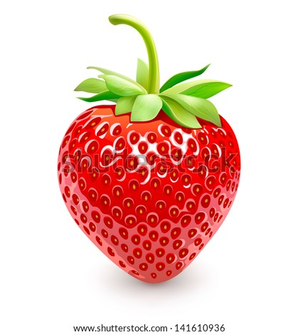 Strawberries. Vector Eps 10. - stock vector