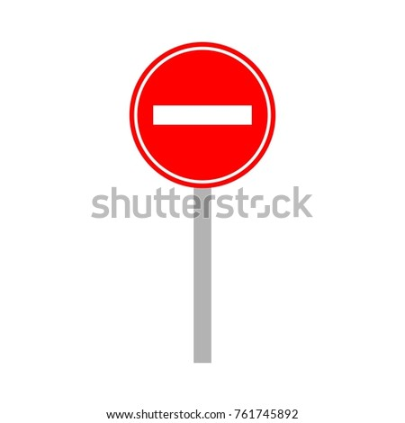 street signs template logo stock vector royalty free 761745892