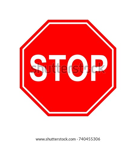 Road sign stop sign vector stock vector 719775865 shutterstock street vehicles template logo pronofoot35fo Images