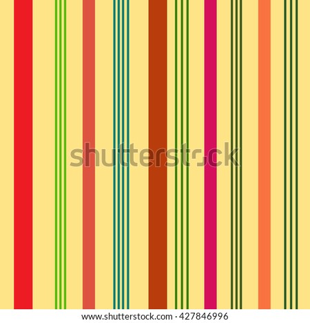 Striped color seamless pattern. Fashion graphic background design. Modern stylish abstract texture. Colorful template for prints, textiles, wrapping, wallpaper, website. VECTOR illustration