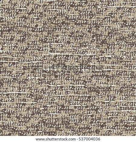 Striped flecked carpet texture. Abstract vector.