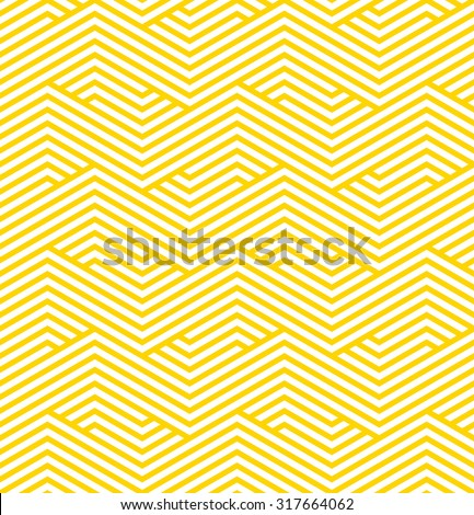 striped geometric pattern. seamless vector background. - stock vector