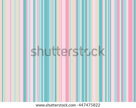 Striped multicolored seamless pattern. Abstract background with vertical lines. Vector illustration.
