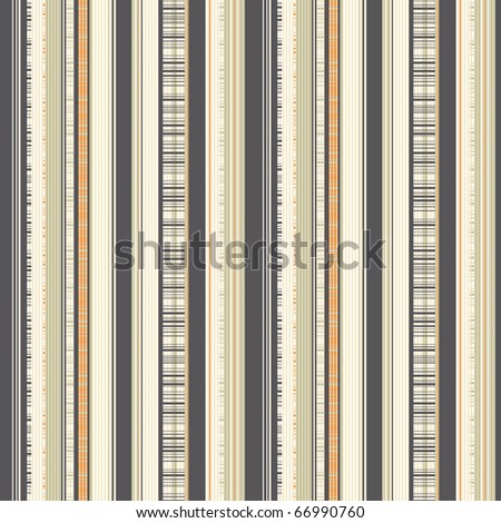 striped pattern in man's shirt style - stock vector