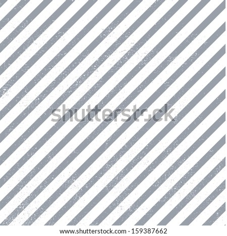 Striped pattern. Pattern is seamless only without grunge dots. - stock vector