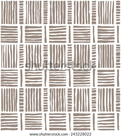 Striped seamless pattern.    Vector graphic background. - stock vector