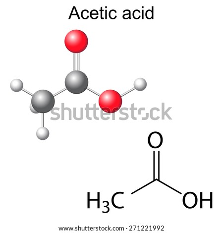 chemistry acetic acid Acetic acid: acetic acid (ch3cooh), the most important of the carboxylic acids a dilute (approximately 5 percent by volume) solution of acetic acid produced by fermentation and oxidation of natural carbohydrates is called vinegar a salt, ester, or acylal of acetic acid is called acetate industrially, acetic.