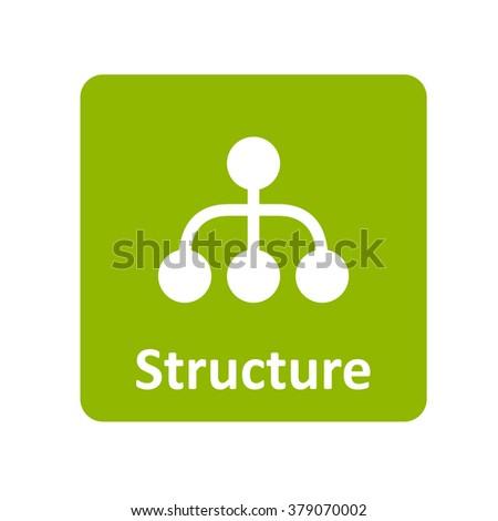 structure Icon, structure Icon Eps10, structure Icon Vector, structure Icon Eps, structure Icon Jpg, structure Icon Picture, structure Icon Flat, structure Icon App, structure Icon Web - stock vector