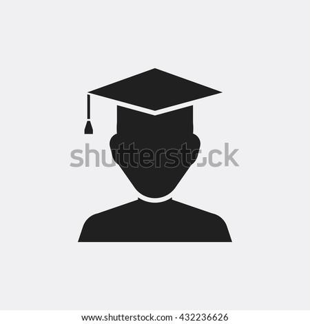 student Icon, student Icon Eps10, student Icon Vector, student Icon Eps, student Icon Jpg, student Icon, student Icon Flat, student Icon App, student Icon Web, student Icon Art, student Icon, student - stock vector