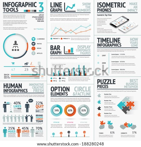 Stunning Infographic Elements Vector Set Your Stock Vector ...