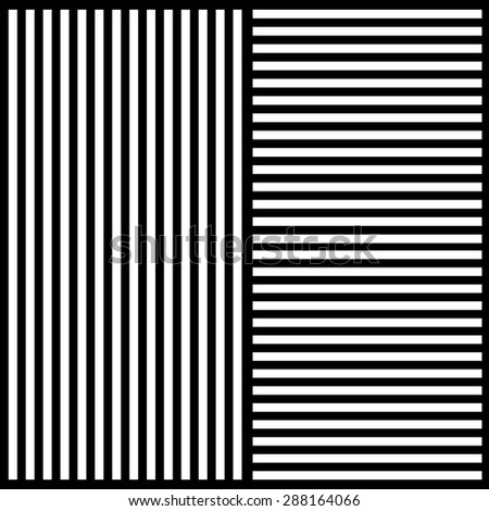 Stylish background of black and white stripes in different direc