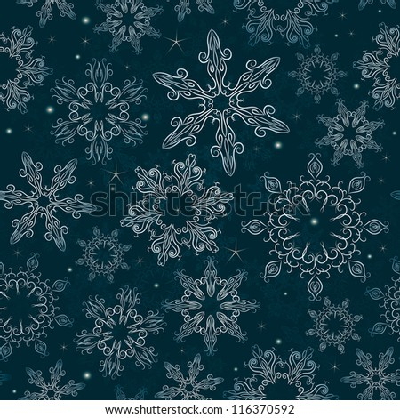 Stylish christmas wallpaper - stock vector